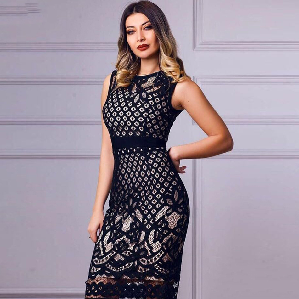 Bodycon Lace Dresses Women 10