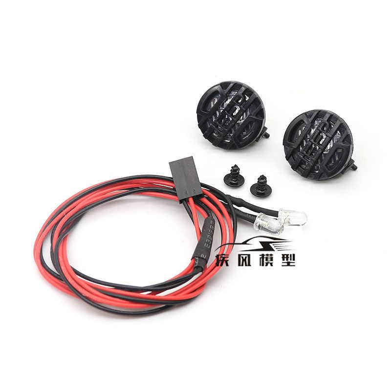 MJRC RC รถ 4 LED สำหรับ 1:10 RC Tracked Axial SCX10 90046 Traxxas TRX4 Tamiya CC01 D90 TF2 MST HPI 90053 90028 RR10