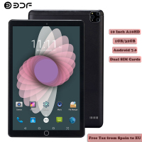 BDF Tablet 10 Inch 3G Phone Dual SIM Tablets Pc Android 7.0 Google Play 4/Quad Core 1GB/32GB IPS Tablet 7 8 9 10 Metal Tablet Pc