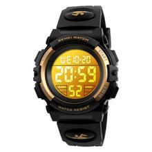 Skmei Children Fashion Digital Watch Week Display Chronograph Clock LED 5Bar Waterproof Kids Sport Wristwatches Boy Girl