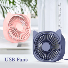 цена на Mini Fan USB fans portable fan USB rechargeable mini desk Fan Air Cooler Summer Portable Personal Cooling Fan mini fan portable