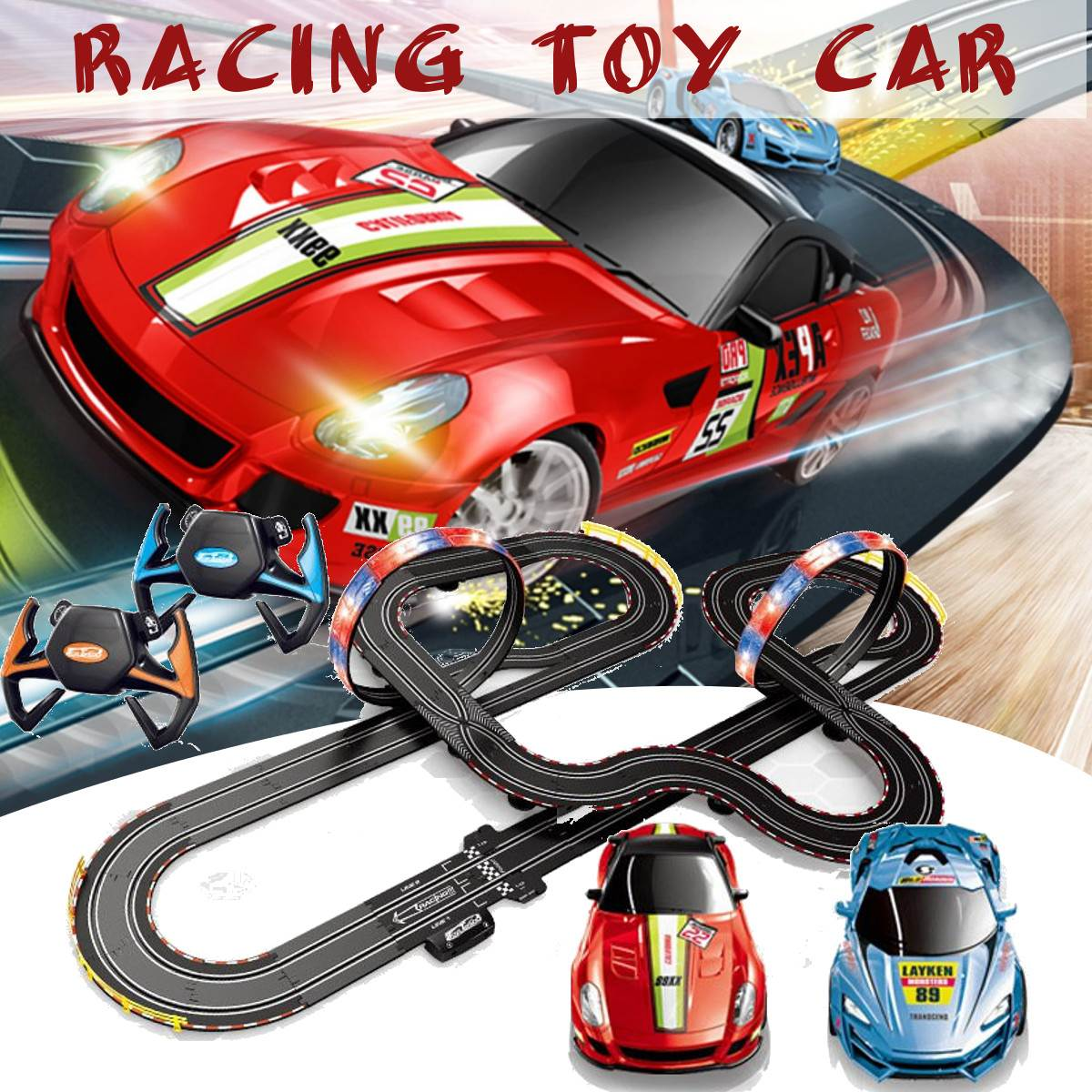 Years Old Children Kids Racing Track Car Toys Gift for Boys,DIY ...