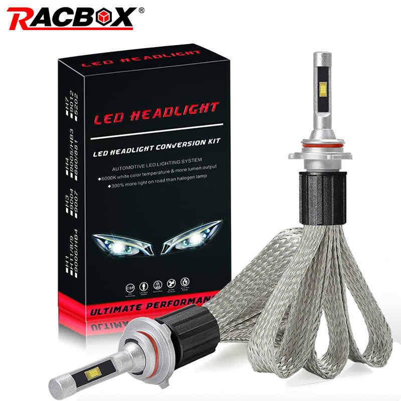 Pair 36W 3500LM FLIP Chips Car LED Headlight Bulb H1 H7 H4 H11 9005 HB3 9006 HB4 Auto Headlamp Fog Bulb Lamp DC 12V 24V