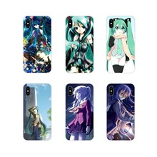 Anime Hatsune Miku Beauty Girl For Apple iPhone X XR XS 11Pro MAX 4S 5S 5C SE 6S 7 8 Plus ipod touch 5 6 Cell Phone Cases Covers(China)