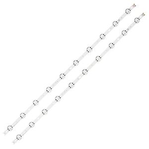 """Image 1 - Светодиодная лента для подсветки 10 ламп для LG SUNG WEI55V0 E74739 94V 0 43 """"V17 art3 2867 TV 43LJ614V 43LV340C 43UJ670V 43UJ6565 43UJ6525"""