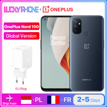 Globalna wersja OnePlus Nord N100 4GB 64GB Smartphone Snapdragon 460 6.52 calowy ekran 90Hz 13MP potrójne kamery 5000mAh 18W
