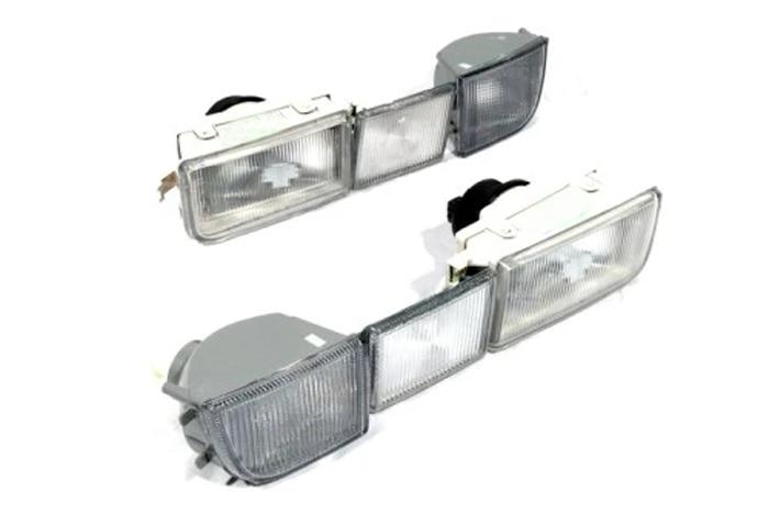 Комплект предни фарове за мъгла Euro Spec - Автомобилни светлини - Снимка 1