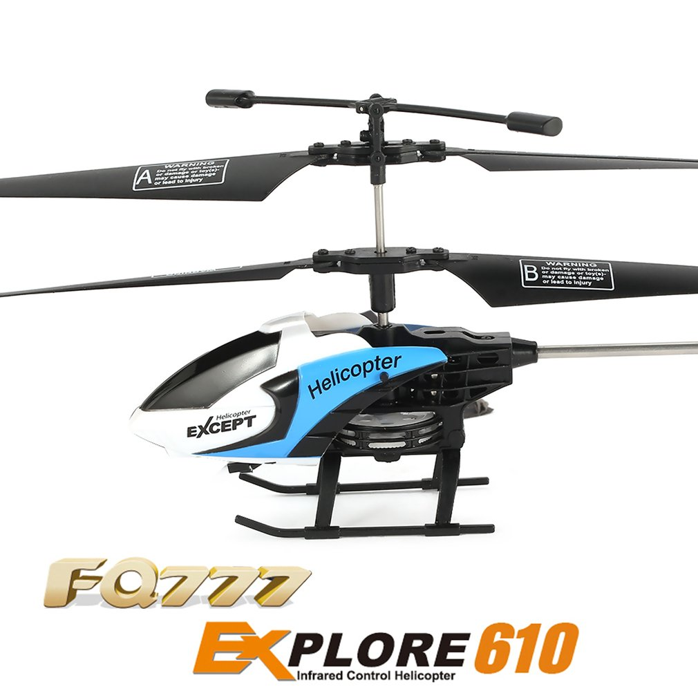 3CH Mini Explore RC Drone Aircraft 6-Axis Built in Gyro Infrared Remote Control Helicopter Toys with LED Light Durable Structure