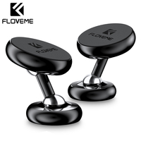 FLOVEME Magnetic Car Phone Holder For Phone In Car Mobile Phone Cellphone Car Holder Mount Stand Support Smartphone Voiture New