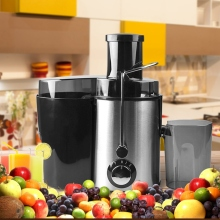 цена на Large Stainless Steel Electric Juicers Multifunctional Juicer Fruit and Vegetable Juice Fruit Drinking Machine Home Commercial E