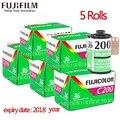Fujifilm Fujicolor C200 Farbe 35mm Film 36 Exposition für 135 Format Kamera Lomo 135 Lomo Kamera 2018 jahr expiried filme-in Film aus Verbraucherelektronik bei