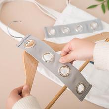 Hanger Cloth Space-Saving-Hanger Closet-Organizer Magic Plastic with Hook 2PCS