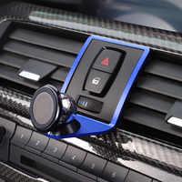 3 colores soporte para teléfono móvil para BMW 2 3 4 serie GT F22 F23 F30 F31 F34 F32 F33 F34 F35 F36 F80 F82 M4 2013-2019 con un logotipo M