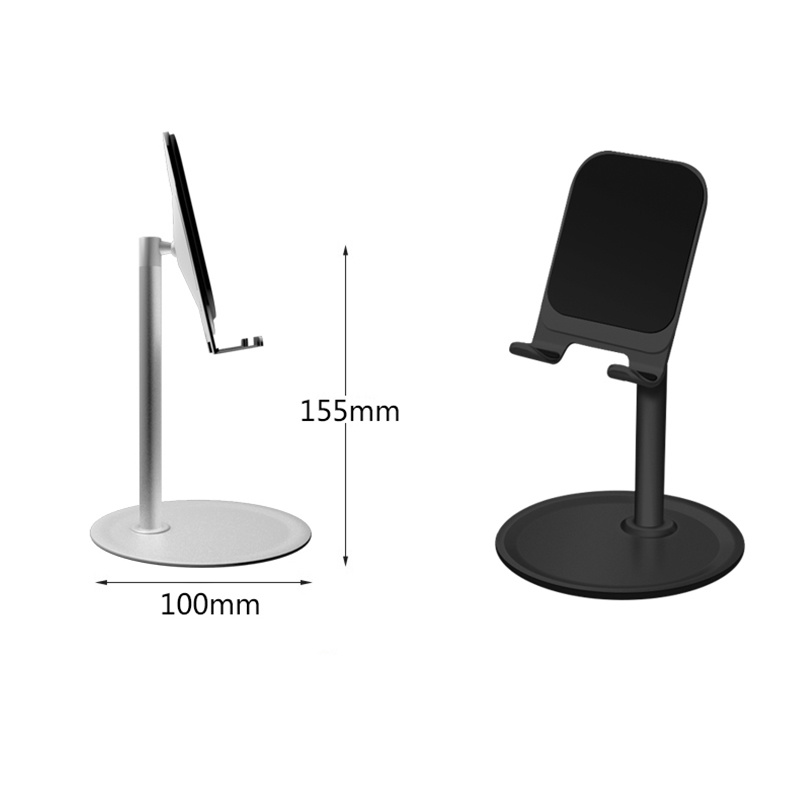 New Adjustable Foldable Phone Tablet Holder Adjustable Desktop Mount Stand Universal Desk Stand for Ipad huawei All Mobile