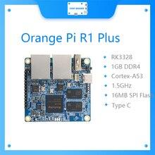 Nowy pomarańczowy Pi R1 Plus, przenośny Router podróżny SBC OpenWRT z podwójnym GbE,1GB Rockchip RK3328, obsługa systemu Android 9/Ubuntu/Debian OS