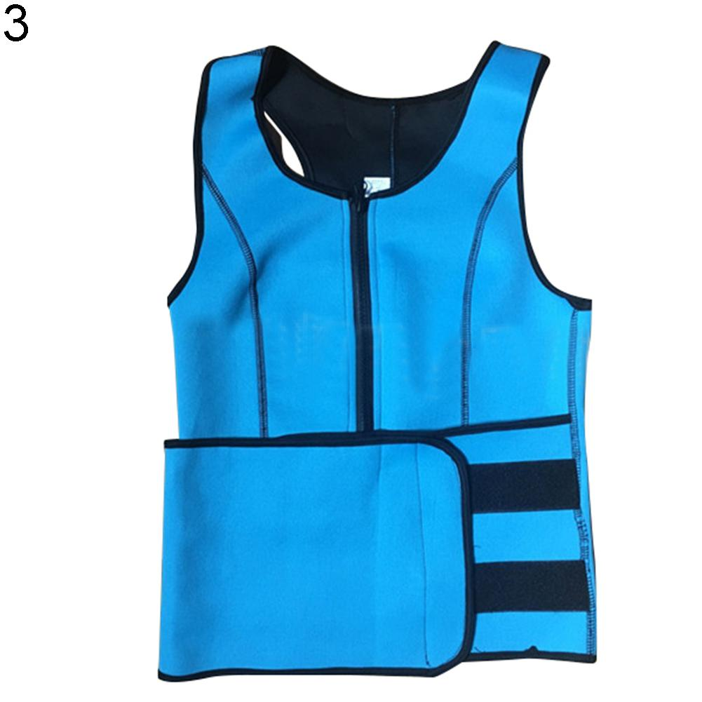 Women Neoprene Waist Trainer Corset Vest Slimming Workout Body Shaper Shapewear