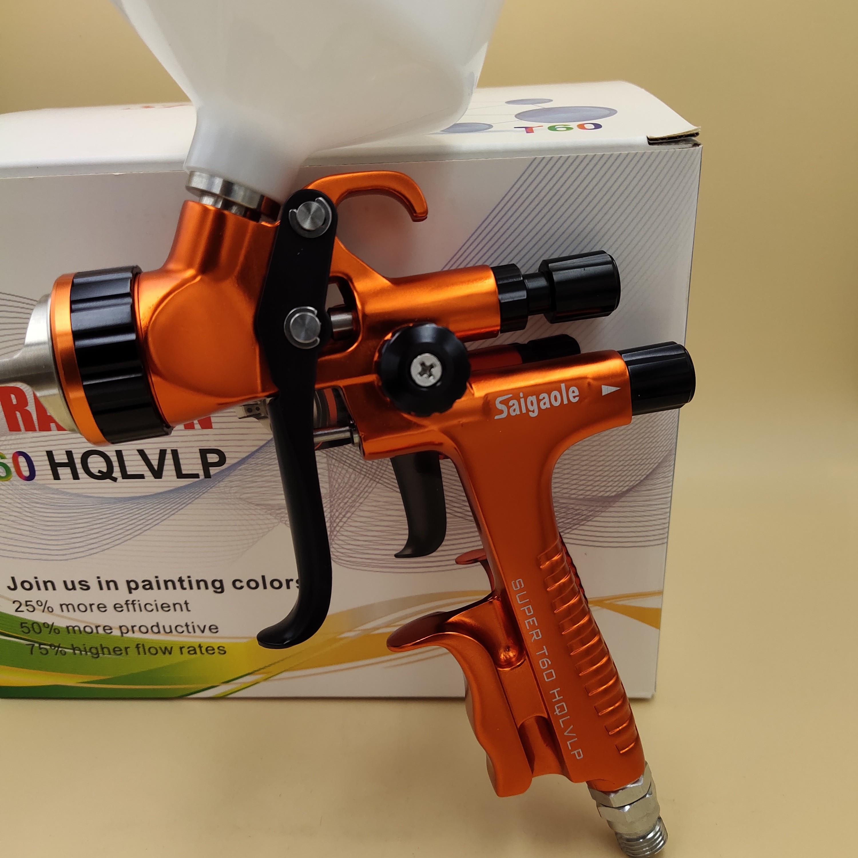 T60  spray gun 1 3mm hvlp car sprayer painting tool high Atomization air paint sprayer airbrush gun