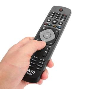 Image 4 - RM L1225 LCD TV Remote Control Replacement Smart TV Controller for Philips Remote 2422 5490 01833 RC1205B RC1683701 RC1683801