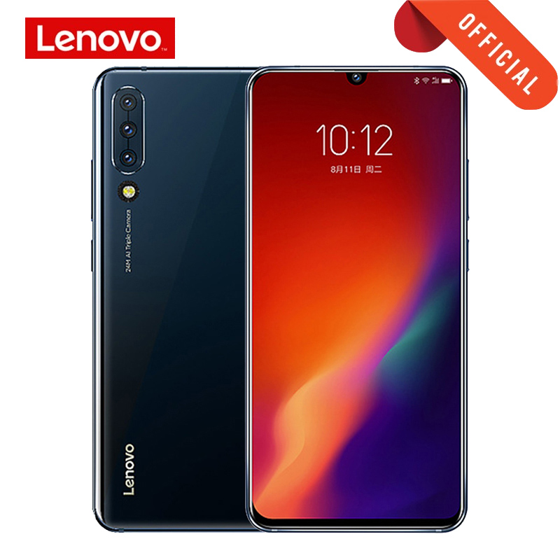 Global ROM Lenovo Z6 6GB 64GB 128G/8G 128G Smartphone Snapdragon 730 Octa Core Mobile Phone 6.39 Inch OLED Quad Cameras 4000mAh image