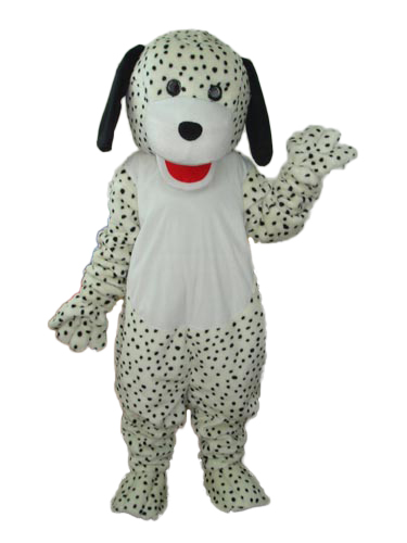 Fashion Design Smart Spotted Dog Mascot Costume Adult Birthday Party Fancy Dress Halloween Cosplay Outfits Clothing Xmas