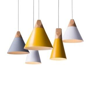 Image 1 - LukLoy Modern Kolye Tavan Lambaları Loft Mutfak LED kolye Işıkları Hanglamp Asılı aydınlatma armatürü Nordic Armatür
