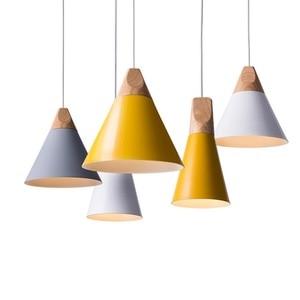 Image 1 - LukLoy Modern Pendant Ceiling Lamps Loft for The Kitchen Led Pendant Lights Hanglamp Hanging Light Fixture Nordic Luminaire