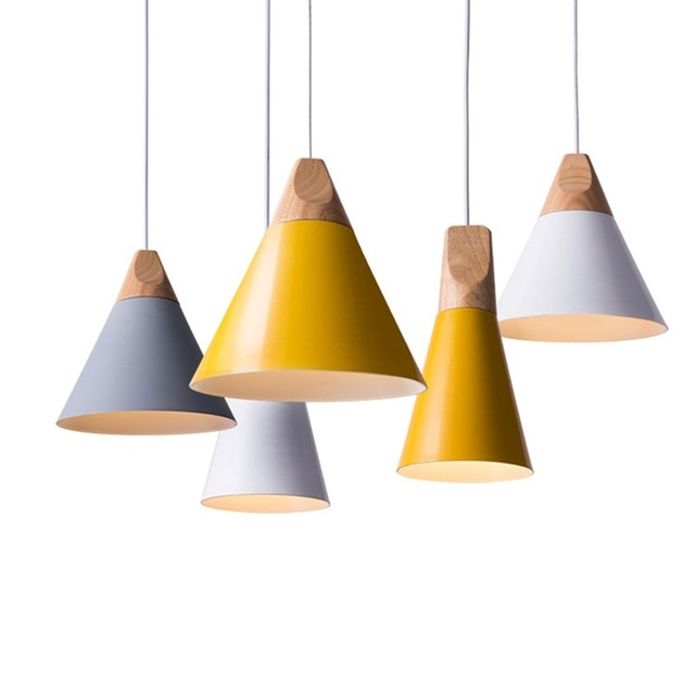LukLoy Modern Pendant Ceiling Lamps Loft for The Kitchen Led Pendant Lights Hanglamp Hanging Light Fixture Nordic Luminaire