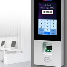 Card-Reader Attendance-Machine Fingerprint Biometric for Office-Use Access-Control-Keypad