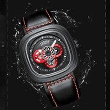 Jam Relogio Watch Kerangka