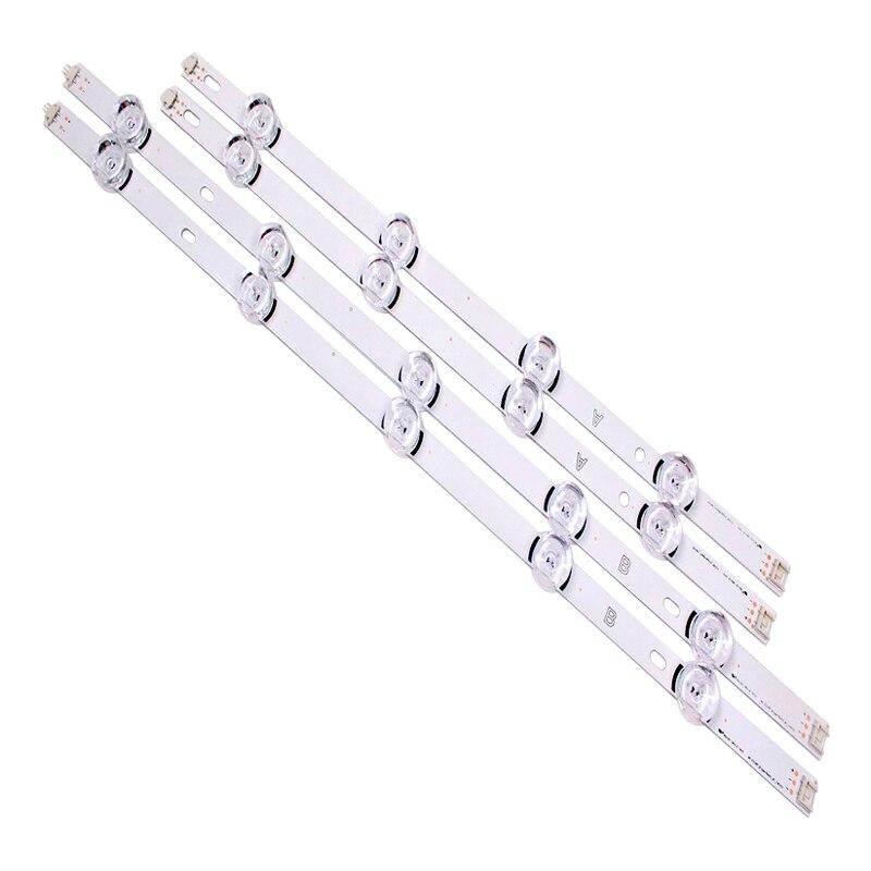 """עכברים - מקלדות new10pcs רצועת LED עבור LG Innotek ד.ר.ת 3.0 49"""" A / B 49LB5500 49LB550V 49LB5550 6916L-1944A 6916L-1945A 6916l-1788A 6916l-1789A (2)"""
