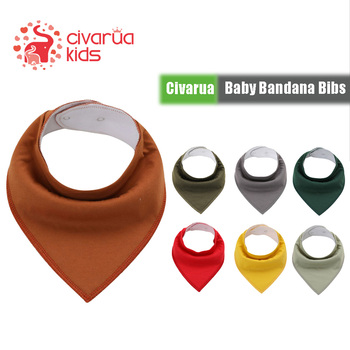 Civarua Kids Baby Bandana Drool Bibs for Boys & Girls, Super Soft Absorbent Cotton for Drooling and Teething, Baby Shower Gifts premium baby bandana bibs extra soft natural cotton baby drool bib for drooling and teething super absorbent baby shower gift