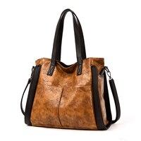 Retro Women's Fashion Handbag Beautiful Lady Crossbody Bag Elegant pu Leather One Shoulder Tote Bags for women 2019