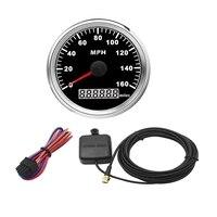 85mm GPS Speedometer Waterproof 160MPH for Car Truck Motorcycle|Tachometers| |  -