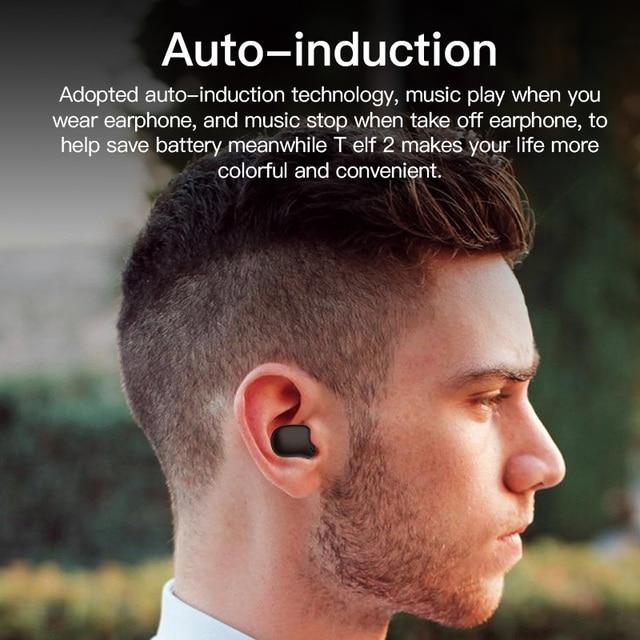 Bluetooth earphone Bluedio T-elf 2 Sports Headset with charging box 2