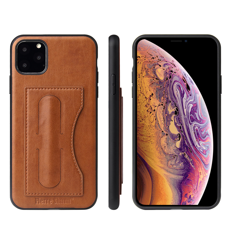 Fashion Faux Leather Card Holder Case for iPhone 11/11 Pro/11 Pro Max 39