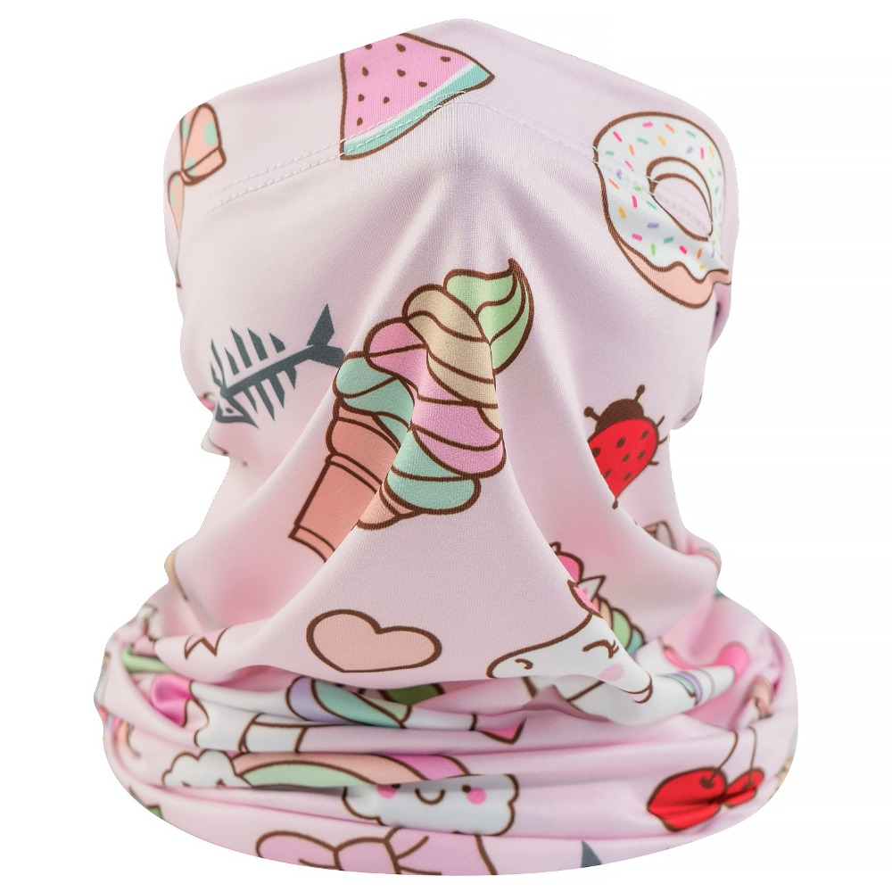 trendy kids neck gaiter