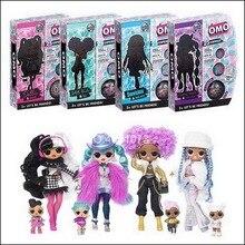 Глухая коробка сюрприз! О. М. Г. Зимняя Дискотека Долли Модная Кукла LOLS и сестра для девочек топ-секрет OMG рождественские игрушки