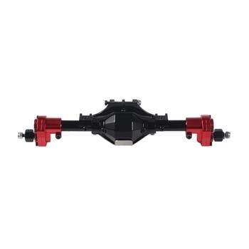 Aluminum CNC Anodized Full Rear Portal Axle for 1/10 RC Crawler Car Axial SCX10 II 90046 90047 Upgrade Parts