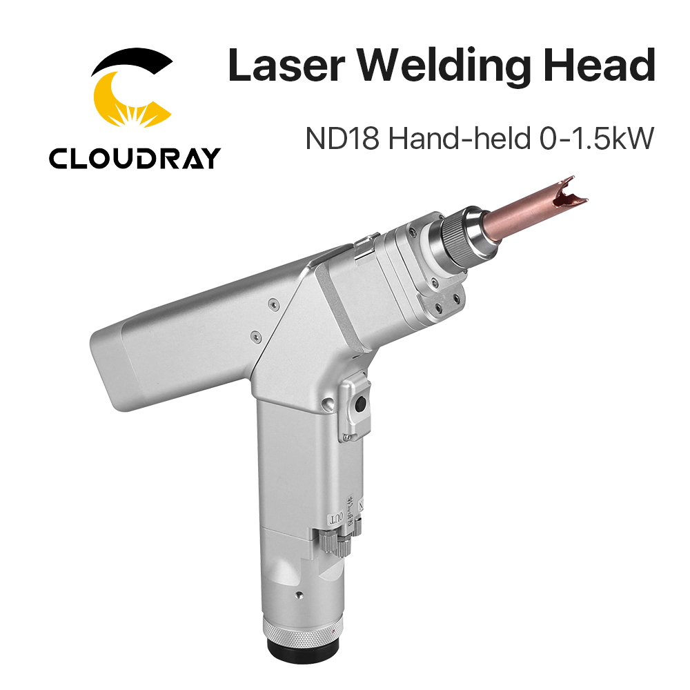 Cloudray WSX 0-1.5KW ND18 Hand-held Laser Welding Head Max Power 1500W With QBH Connector For Fiber Laser Machine