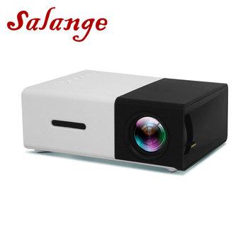Salange YG300 Mini projektor 320 #215 240 pikseli obsługuje YG-300 1080P HDMI USB Audio Video Beamer tanie i dobre opinie Instrukcja Korekta Projektor cyfrowy Wtyczka uk Us wtyczka Au plug Ue wtyczka 16 09 Focus 50 Ansi Brak 320*240 800 Lumenów