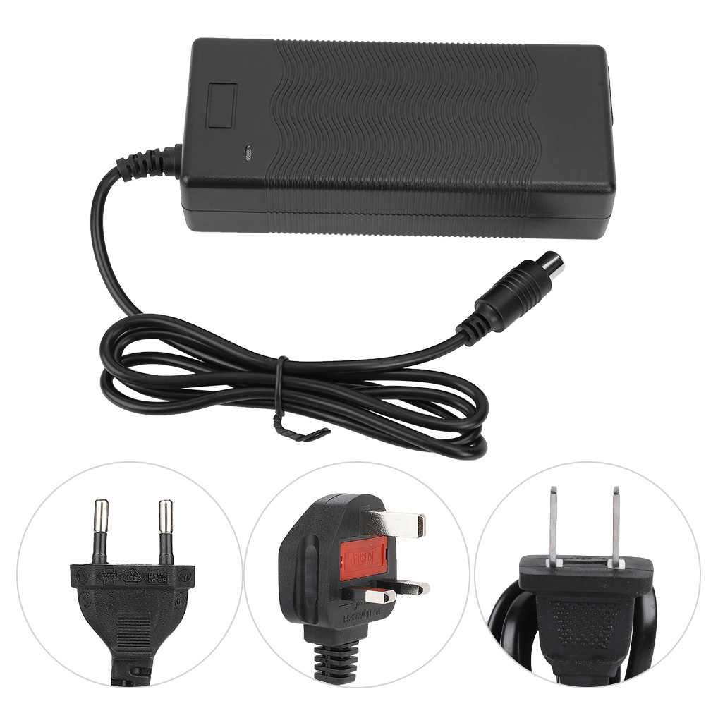 EU US UK 42V 2A Power Adapter Electric Scooter Two Wheel Balance Car Adapter for Lithium Battery Safe Charger for Xiaomi 220V