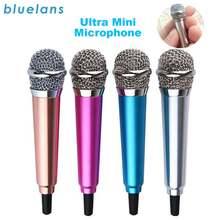 4 вида цветов ручной микрофон Портативный Мини 35 мм стерео