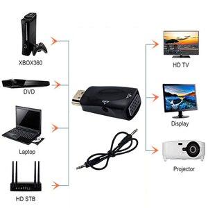 Image 2 - Nieuwe Hd 1080P Hdmi Compatibel Naar Vga Adapter Digitaal Naar Analoog Converter Kabel Voor Pc Laptop Tv Box computer Display Projector
