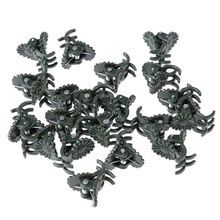 20Pcs/lot Plant Fix Clips Orchid Stem Vine Support Flowers Tied Branch Clamping