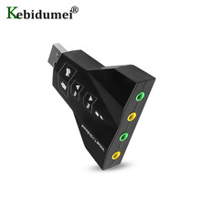 Audio-Adapter Sound-Card Laptop External-Channel Virtual 3D USB 2 for PC Macbook Usb-2.0