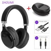 Aktive Noise Cancelling Headsets Bluetooth Stereo Helm ANC Drahtlose Kopfhörer mit Mic Kopfhörer Tasche Bass Hifi Hörer LY-903
