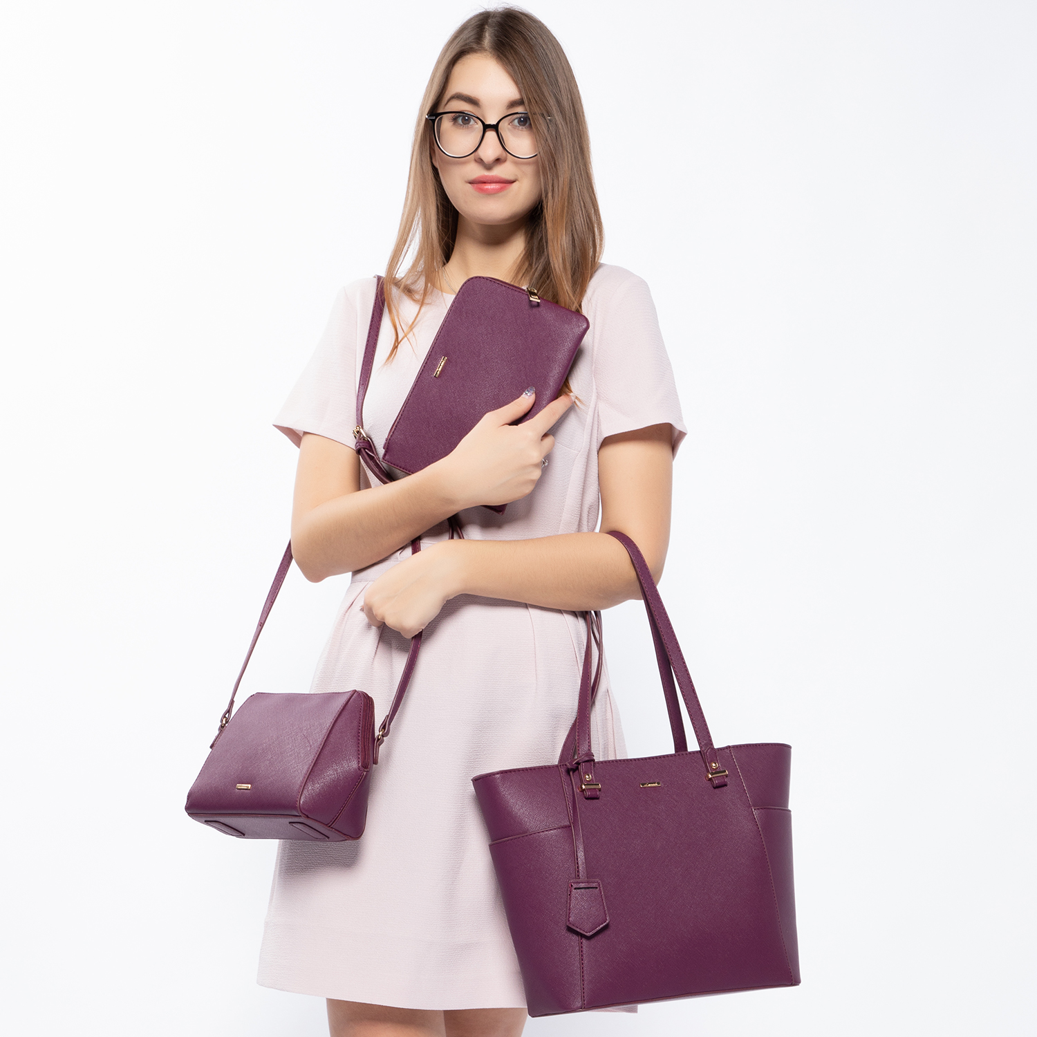 Habcae71b44a44937a218a310b4638a5eZ - women shoulder bags crossbody bags for ladies large tote bag set 3 pcs clutch and purse luxury handbag women