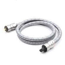 JP KRELL CRYO 156 nas zasilanie prądem zmiennym przewód zasilający kabel hifi amerykański Standard płyta Audio CD wzmacniacz lampowy wzmacniacz moc US kable ue usa wtyczka zasilania