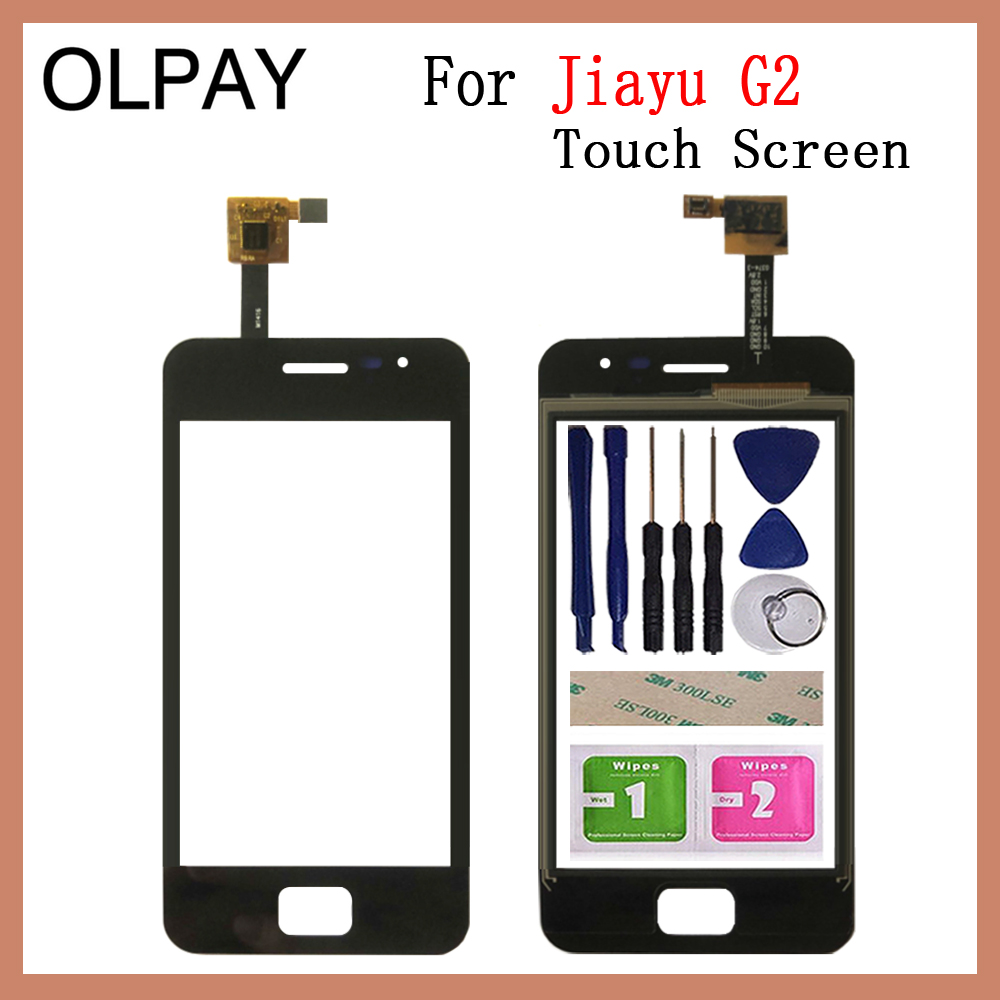 OLPAY 4.0'' Mobile Phone TouchScreen For Jiayu G2 Touch Screen Glass Digitizer Panel Lens Sensor Glass Repair
