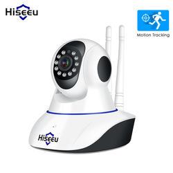 Hiseeu 1080 P ip-камера беспроводная домашняя охранная ip-камера видеонаблюдения Wifi ночное видение камера видеонаблюдения Детский Монитор 1920*1080